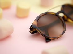 What's sweeter than candy? A pair of Vogue Eyewear's new Sweet Side heart sunglasses that you can take with you.