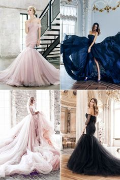 The reception gown has become part of the wedding tradition. In addition to a beautiful look, brides want to wear a gown that is stylish, flattering, and fun. While the wedding dress is more traditional and formal, the reception gown is usually meant to be more modern and colorful. Here are some gorgeous reception gowns …