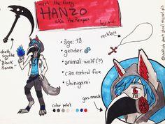 Meet the furry: Hanzo