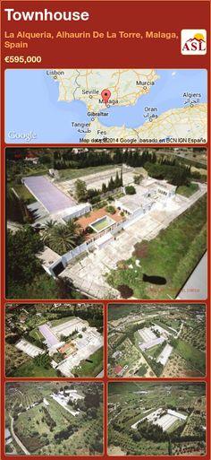 Townhouse for Sale in La Alqueria, Alhaurin De La Torre, Malaga, Spain - A Spanish Life Malaga Spain, Best Investments, Murcia, Town Hall, Seville, Lisbon, Townhouse, Spanish, Building
