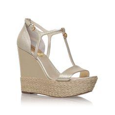 4d35b5ad2ba Michael Kors Kerri wedge high heel wedge sandals