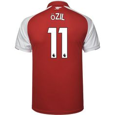 Arsenal Home Men Soccer Jersey OZIL Item Specifics Brand  PUMA Gender  Men  Model Year  Material  Polyester Type of Brand Logo  Embroidered Type of  Team ... e49e13bfd
