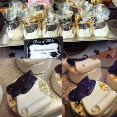 Graduation Chocolate Covered Oreos #graduation #dessertbar #chocolatecoveredoreos #congratgrad #statenisland  #newyork #allinthedetails #chicsweets #chicsweetscandybars