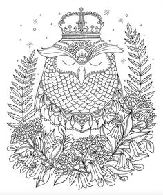 Nordic Coloring Picture Daydream