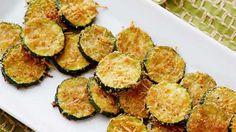 Get Zucchini Parmesan Crisps Recipe from Food Network