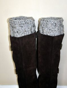 Leg warmers for my boots...