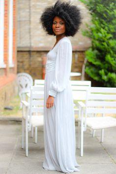 Everything.About.Her - Stunning!!! - Vintage.Dress 'n Afrogobyfrankie  #afronovias #frology