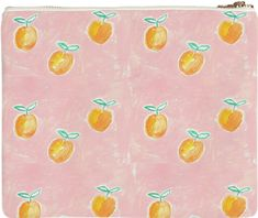 Painterly Citrus Clutch from Print All Over Me