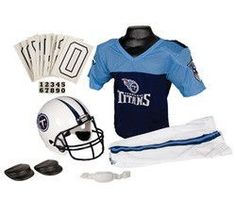 Tennessee Titans Football Deluxe Uniform Set - Size Small
