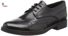 U Hampstead D, Chaussures de ville homme - Noir (Black), 44 EUGeox