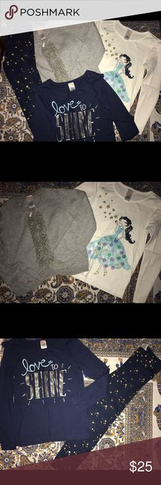 Gymboree Flight of Fancy kit size 6 All in very good to excellent condition. All size 6 except sweater is 5/6. Gymboree Matching Sets