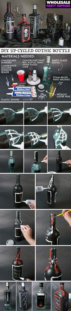 How To Decorate Old Bottles Bangles On Old Bottles Diy  Interior Decoratingdesign