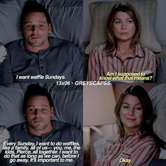Give him a decent woman! Now! Grey's Anatomy 13x06 Meredith and Alex