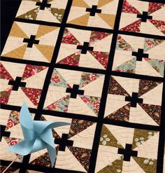 Take five minutes to choose five fat quarters. By minute six, you're off on a new quilting adventure! Come see quilts from Kathy Brown's new book Take 5 Fat Quarters.
