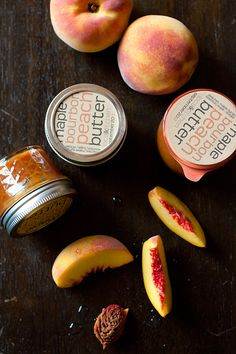 Maple Bourbon Peach Butter via Kaela of Local Kitchen