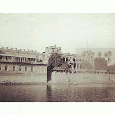 مبنى السفارةالبريطانية في بغداد منطقة الشواكة على ضفاف دجلة 1940