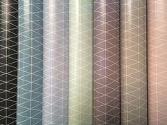 Wachstuch - Wachstuch Rhomben 7 Farben - ein Designerstück von naehkombinat bei DaWanda