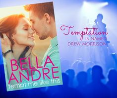 TEMPT ME LIKE THIS is finally here! Thank you so much for your support and enthusiasm about my newest book. I can't wait to hear what you think of Drew Morrison <3 Bella   Amazon Kindle US ~ http://bellaandre.link/TMLTkU2 Apple iBooks ~ http://bellaandre.link/TMLTi2 Barnes & Noble Nook ~ http://bellaandre.link/TMLTb2 Kobo ~ http://bellaandre.link/TMLTko2 Google ~ http://bellaandre.link/TMLTg2 Amazon Australia ~ http://bellaandre.link/TMLTaa2 Amazon Canada ~ http://bellaandre.link/TMLTac2…