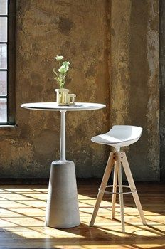 Flow Bar Stool - MDF Italia by Jean Marie Massaud. Available to buy from Tangram Furnishers located in Edinburgh, for delivery across the UK. Fine Furniture, Table Furniture, Contemporary Furniture, Painted Furniture, Furniture Design, Furniture Ideas, Architectural Digest, Bar Chairs, Bar Stools