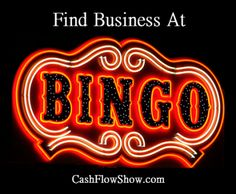 You do not have to be a basket consultant to find business at basket bingo~! Bookings Tip #3:  http://www.createacashflowshow.com/building-show-business/bingo-find-business-3.htm