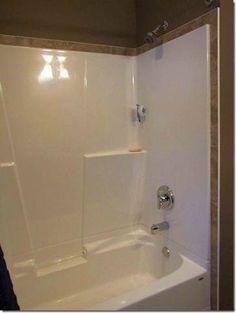 Tile Above Shower Surround   Girls Bath?
