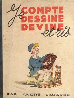je compte, dessine, devine et ris(1945)MATHS DOUBLES MOITIES