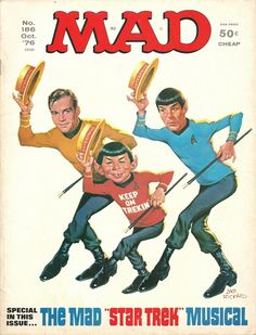 Mad Magazine - Star Trek