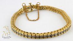 Diamond Bracelet 14K Yellow 1.25ctw