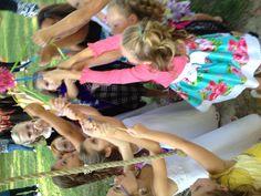 Kayla's dress-up party piñata !!!