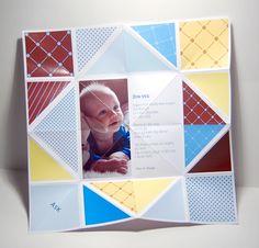 Bordkort innvendig Origami, Nostalgia, Polaroid Film, Good Things, Birthday, Frame, Baby, Decor, Blogging