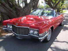 Super hot vintage '69 Cadillac DeVille