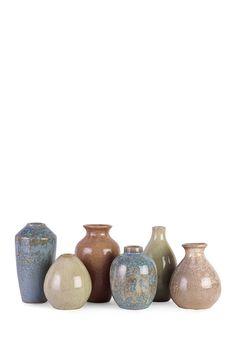 Mini Vases - Set of 6 by Imax on @HauteLook