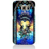 Fashionable Kingdom Hearts Crystal Stained Glass Game Phone Case 3D Stained Glass Perfect Design Cover for Samsung Galaxy S6 Edge Plus *** Learn more by visiting the image link.