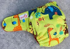 Eschew the Zoo One-Size Fitted Diaper by thegoodmama.com, via Flickr