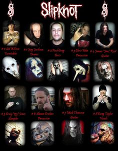 Slipknot Unmasked with Names | posting by Suar A at 04.34.00 1 komentar