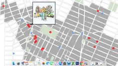 Interactive map of the locations in Greenwich Village!