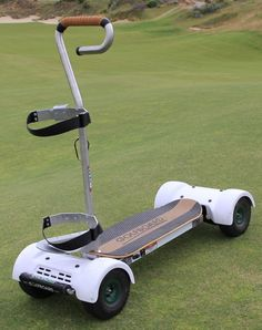 Surf the Turf: GolfBoard Lets You Skateboard Through Rounds of Golf