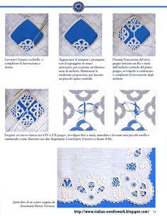 Italian Needlework: Italian Hedebo Embroidery