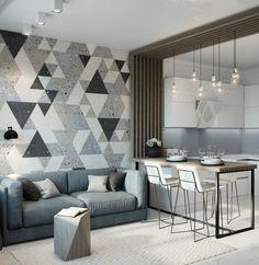 Home small apartment rugs Ideas Home Room Design, Home Office Design, Home Interior Design, Living Room Designs, House Design, Small Apartment Interior, Small Apartment Design, Small Apartments, Simple Living Room