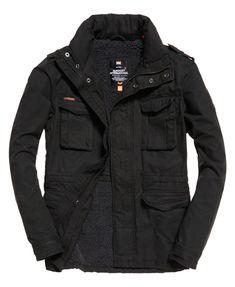 New Mens Superdry Unique Sample Colour Stripe Fuji Jacket Size Large Mid Grey