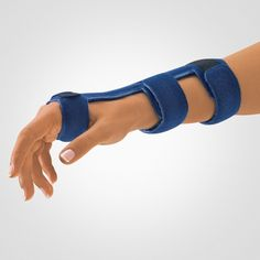 Dorsal wrist splint