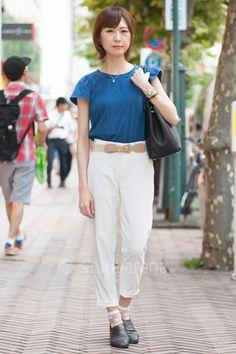 Sono | BEAMS UNIQLO NO BRAND SEIKO LOUIS VUITTON 靴下屋 FURLA | 3rd week  Sep. 2016 | Shibuya | Tokyo Street Style | TOKYO STREET FASHION NEWS | style-arena.jp