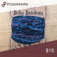 Natural life headband. Brand new. Boho bandeau head wrap. Brand new.  Accessories 7f5f84e7ed1
