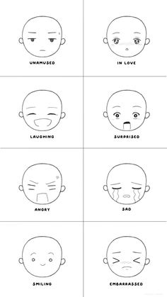How to Draw Feelings: Facial Expressions 101 Drawing Techniques, Drawing Tips, Drawing Ideas, Drawing Face Expressions, Facial Expressions, Simple Drawings, Art Drawings Sketches, Character Drawing, Character Design