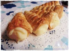 Barquillos rellenos de crema pastelera Chilean Recipes, Chilean Food, Sweets Recipes, Desserts, Mexican Dishes, Cupcake Cookies, Relleno, Sweet Treats, Pudding