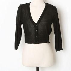 Amazon.co.jp: ショート丈バックレース長袖カーディガン レディースファッション (ブラック): 服&ファッション小物通販