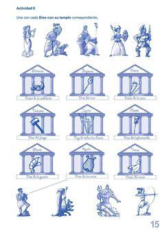 Mitología clásica para niños Ancient Greece, Greek Mythology, Ancient History, Fantasy, Education, Reading, School, Anime, Greek History