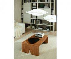 FGF Mobili Sloping Couchtisch Parawood