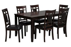 Janelle 7 Piece Dining Set - Signature