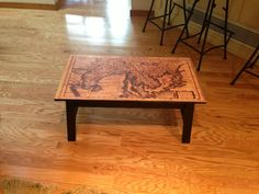 LOVE this map table!